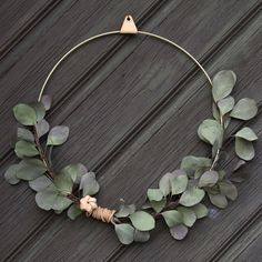 Brass Ring By Strups. Ideal as a Christmas door decoration or wreath.