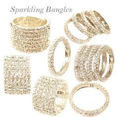 """Sparkling Bangles"" by designerdesirables on Polyvore"