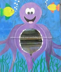 Another possible photo prop for the under the sea party - this time an octopus!