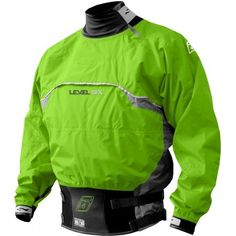 A dry suit is vital to staying dry while kayaking. Pick from a variety of dry suits & splash jackets ACK has to offer. Canoe And Kayak, Kayaking, Motorcycle Jacket, Baron, Suits, Detail, Long Sleeve, Jackets, Tops