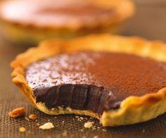 Recette gourmande : Tartelette au chocolat croquant