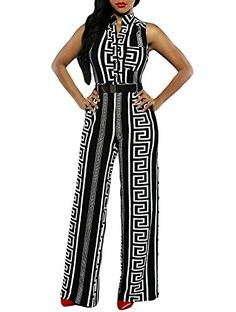 Cfanny Womens Geometric Print Gold Belted Wide Leg Palazzo Jumpsuit,Black,Small Cfanny Womens Geometric Print Gold Belted Wide Leg Palazzo Jumpsuit (Barcode EAN = 0740030692348). http://www.comparestoreprices.co.uk/december-2016-4/cfanny-womens-geometric-print-gold-belted-wide-leg-palazzo-jumpsuit-black-small.asp