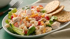 Bring the all-American flavors of a club sandwich into your kitchen with this ready-in-a-flash salad.