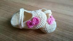 Avontuur met een haaknaald..Gehaakte knuffels en nog meer!: GRATIS haakpatroon baby ballerina schoentjes 0-3 maand.