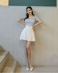Asian Model Girl, Asian Woman, Pretty Woman, Silhouette, Mini Skirts, Beautiful Women, Asian Ladies, Lady, Dresses