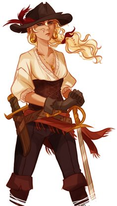 Pirate Annabeth Chase AU by Viria Percy Jackson Fan Art, Percy Jackson Books, Percy Jackson Fandom, Annabeth Chase, Viria, Dibujos Percy Jackson, Wise Girl, Trials Of Apollo, Leo Valdez