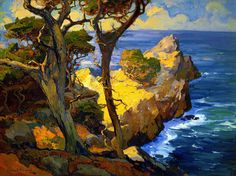 Franz Bischoff (1864-1929), one of the original members of the California Art Club