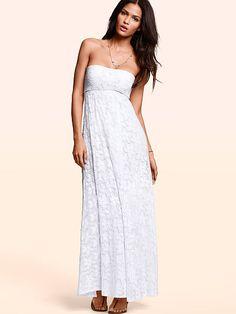 victoria's secret lace maxi dress | Foldover Multi-way Maxi Dress