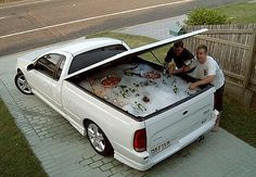 When this ute became an Esky. | The 33 Most Australian Moments Ever