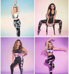 Little Mix Outfits, Little Mix Style, Little Mix Girls, Cute Gym Outfits, Jesy Nelson, Perrie Edwards, Top Singer, Litte Mix, Usa Pro