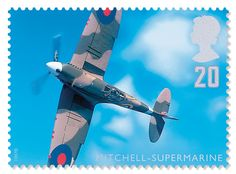 Royal Mail Aircraft Stamps. Designed by Turner Duckworth.