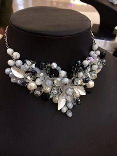 Wire wrapped jewelry handmade necklace  glass by FlowerRainbow