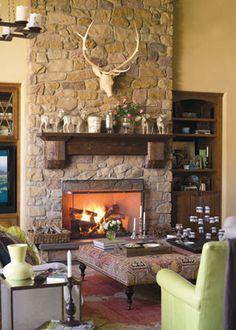 106 best rustic fireplace ideas images fire places fake fireplace rh pinterest com images of rustic fireplace decor images of rustic fireplace mantels