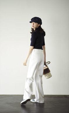 Fashion Pants, Love Fashion, Spring Fashion, Womens Fashion, Frou Frou, Minimalist Fashion, Minimalist Style, Japanese Fashion, Passion For Fashion