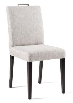 SIRO-tuoli kahvalla (Wenge, Fun harmaanvalkoinen kangas)