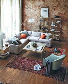Har du ingen stor matta till vardagsrummet – lös det med flera små - Sköna hem