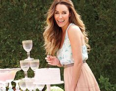 Lauren Conrad's bridal shower is chock-full of DIY inspiration. Scroll through to snoop the pretty projects, including napkins printed with a so-cute custom wedding hashtag, all of which you can make for your own end-of-summer celebrations.