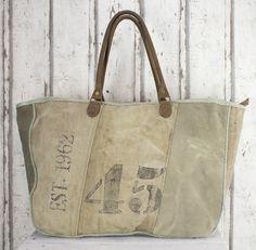 Sunsa Vintage Canvastasche Handtasche Wochenendtasche Badetasche große Tasche
