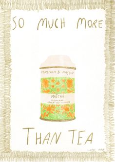 Illustrations and stories by Montse Clotet Fortnum And Mason, Tea Tins, Matcha Green Tea, Illustration Artists, Hygge, Watch