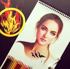 Tris art. I don't know who did this but it's SO GOOD