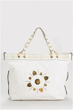 Gucci Pre-owned Studded Genuine Leather Tote