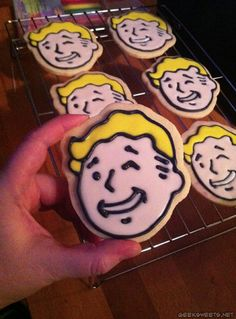 Geek Sweets – FALLOUT COOKIES