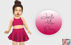 Pixelicecreamz Little Miss Prissy Hair Recolor - The Sims 4 Catalog Toddler Cc Sims 4, Sims 4 Toddler Clothes, Sims 4 Cc Kids Clothing, Sims 4 Mods Clothes, Toddler Outfits, Toddler Girl, Sims 4 Cc Eyes, Sims Cc, Sims 4 Seasons