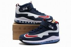 hot sale online b325d 4f836 air max griffey 3 men shoes navy blue and red white Red Nike Shoes, Kobe