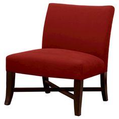 Owen X Base Slipper Chair   Solid Color