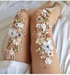 a6b58fc0c Wedding day dress tights Limited Edition - Blush - Handmade Fishnet by  LirikaMatoshi on Etsy www