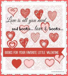 Books for Your Favorite Little Valentine!