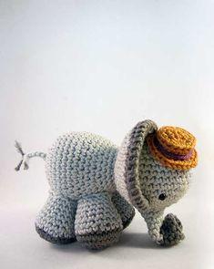 Edward The Elephant Amigurumi Pattern