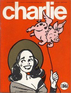 Charlie Mensuel - # 36 - Janvier 1972 - Couverture de Capp