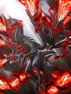 Monster Hunter Series, Monster Hunter Art, Fantasy Demon, Fantasy Beasts, Hunter Tattoo, Legendary Dragons, Dragon Artwork, Dragon Pictures, Chinese Dragon