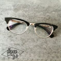 Ray Ban Clubmaster Optics - The Greaser and the Doll