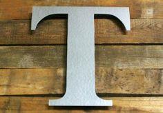 Galvanized Steel Metal Letters