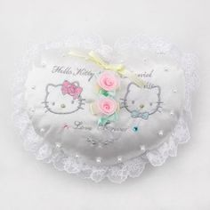 Hello Kitty Wedding Pillow