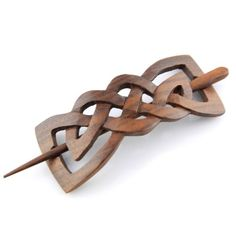 Evolatree Hand Carved Sono Wood Celtic Bow Tie Hair Pin Barrette 4 *** You can get more details by clicking on the image. (This is an affiliate link) Stone Carving, Wood Carving, Welsh Love Spoons, Bow Tie Hair, Dremel Carving, Hair Decorations, Hair Sticks, Hair Accessories For Women, Hair Barrettes