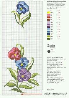 Corners - Machine Cross Stitch |