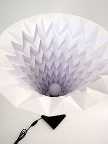 LAMPSHADO - origami paper lampshade paper lamp, paper design, paper art