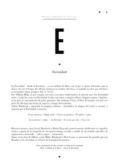 """""""Eternidad"""" en Macro Etnografía poética: Buenosaires Poetry Nº3"""