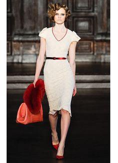 How fun is this dress?! It looks like a good time!  L'Wren Scott Fall 2012