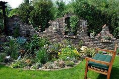 Reading garden / pond - Home Decor Garden Yard Ideas, Garden Pool, Backyard Patio, Outdoor Rooms, Outdoor Living, Outdoor Decor, Back Gardens, Outdoor Gardens, Reading Garden