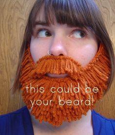felt beard