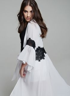 Black &<br />Wild Mat Fashion, Bell Sleeves, Bell Sleeve Top, Spring Summer 2015, Ruffle Blouse, Collection, Black, Tops, Women