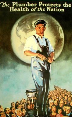 The Best Plumbing Services at Affordable Prices 24 hours all Days Including Holidays and Weekends, Day or Night. Call Now and for a High Quality, Fast, Reliable and economical plumber service. Norman Rockwell Art, Norman Rockwell Paintings, Plumbing Humor, Plumbing Tools, Plumbing Pipe, Plumbers Crack, Plumbing Companies, Modern, Vintage Advertisements