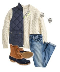 """a little bean boot appriciation bc I'm about to order some!!!!!"" by sydneylawsonn ❤ liked on Polyvore"