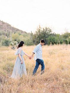 Desert Engagement Session by Rachel Solomon Photography   Wedding Sparrow   wedding blog