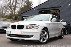 BMW SERIE 1 DIESEL 2009 BLANC 84388 km
