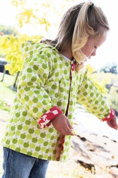 Uptown Girl - reversible jacket pattern. Instant downed. 2 size ranges: 0 -5 years and 6-10 years